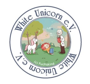 File:White unicorn logo.png