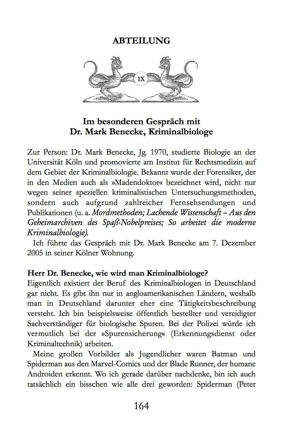 Kirchschlagers Curiositaeten Cabinett: Das besondere Gespraech ...